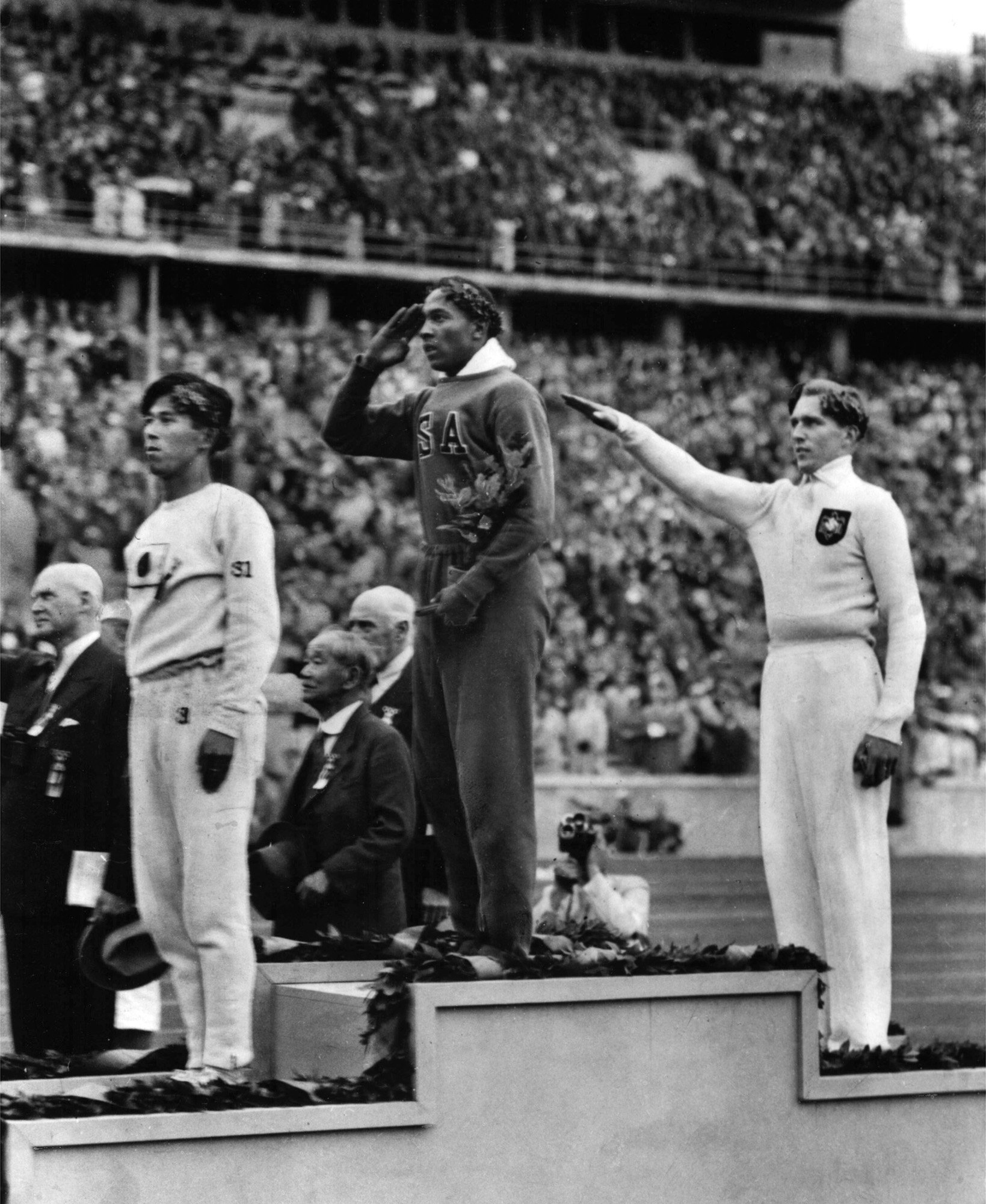 Hitler'i çıldırtan sporcu! 2