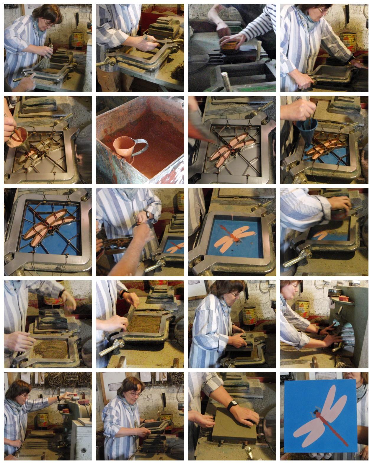 Yer karolarının yapımı 1