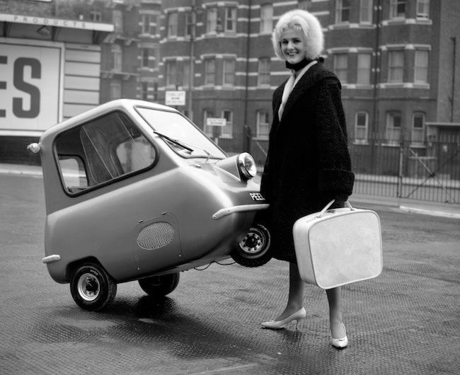 Dünyanın en küçük otomobili 1