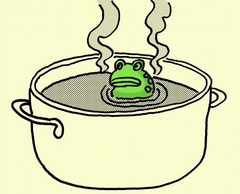 Kaynayan kurbağa 10